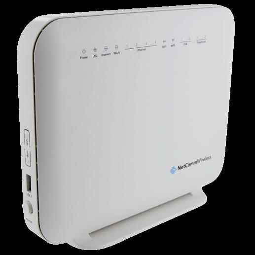 Netcomm Nf4v Vdsl Adsl Wifi Gigabit Voip Modem Router